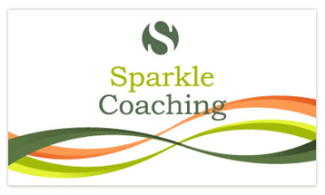 Sparkle Coaching Business Card - Front