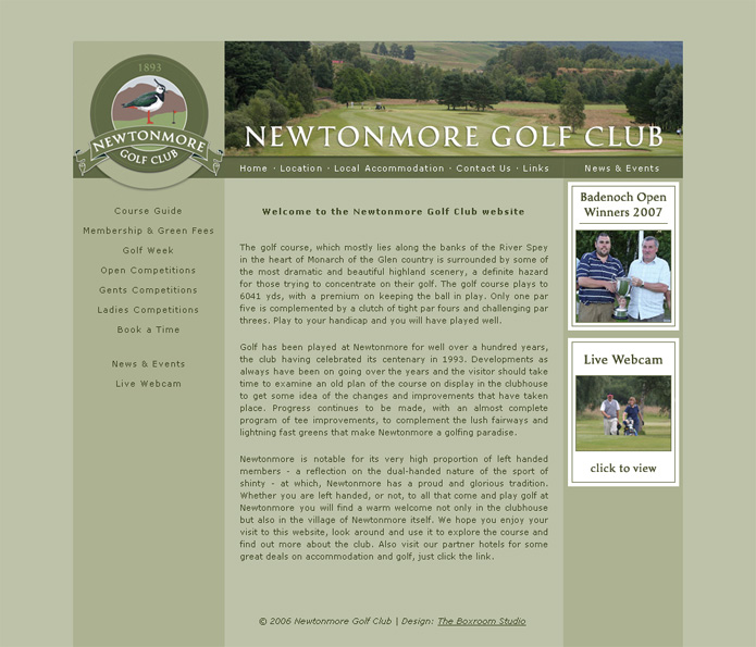Newtonmore Golf Club