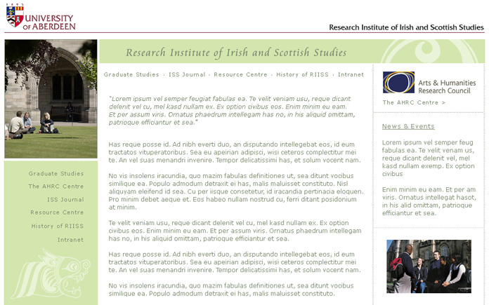Research Institute of Irish and Scottish Studies